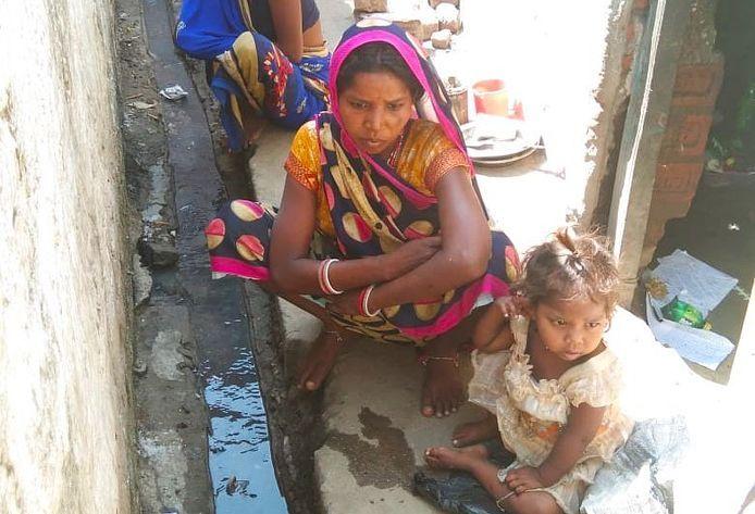 kid dies of hunger in bihar