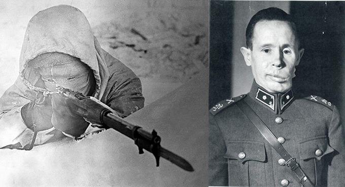 Ivan Kulbertinov the white death top 10 sniper