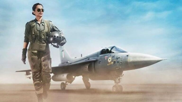 Kangana Ranaut Gives The Glimpse Of Her Upcoming Movie 'Tejas' As A Fighter Pilot