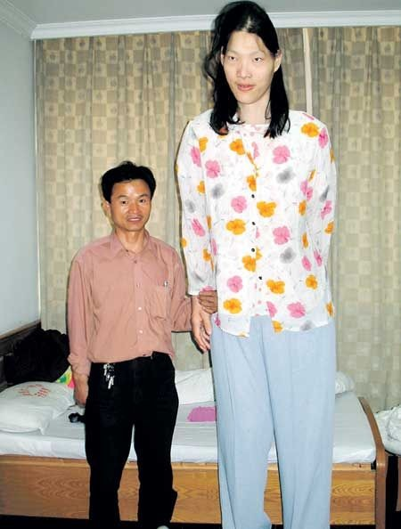 Yao Defen tallest girl in the world