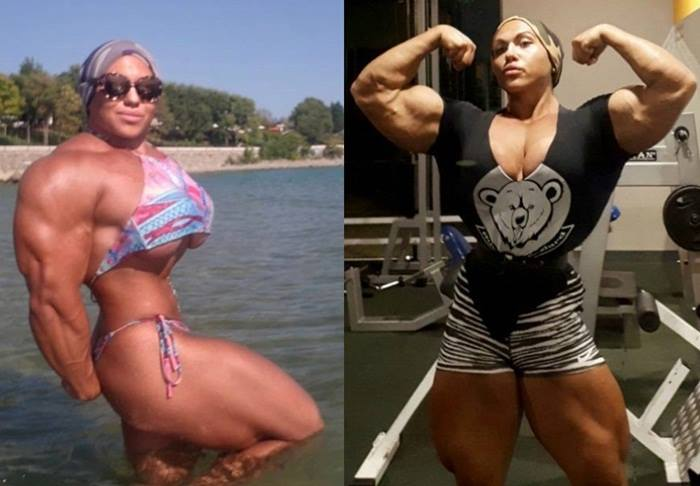 Meet The Internet Sensation Muscle Woman Nataliya Kuznetsova
