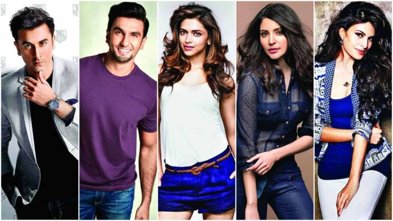 Deepika Padukone, Anushka Sharma, Ranveer Singh, Jacqueline Fernandez And Ranbir Kapoor Will Come Together For A Project