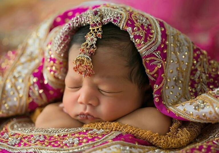 These babies all dressed up for Indian Weddings will make your day! Let us unveil cuteness!