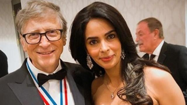 mallika sherawat meets bill gates