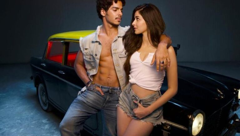 Ananya Pandey Shares her DDLJ moment at the shoot of Khaali Peeli