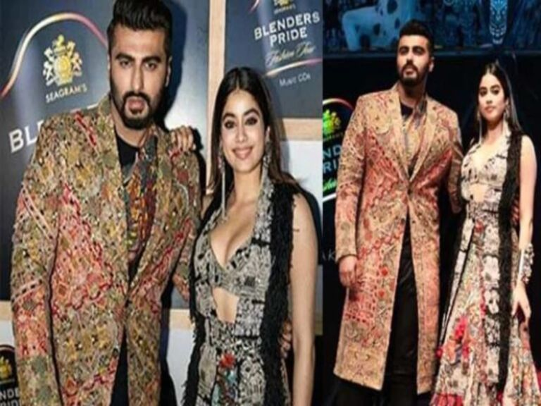 Janhvi Kapoor Ramps Up With Arjun Kapoor: Brother-Sister Duo Wreaked Havoc In Fashion Show