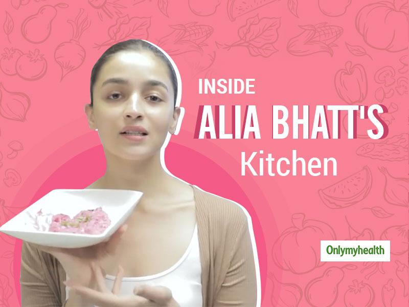 Alia Bhatt Shares Her Cooking Video