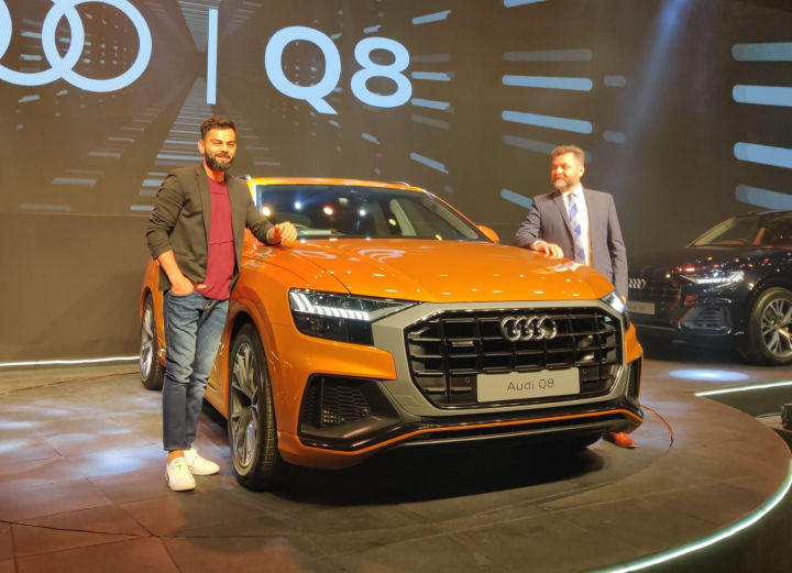 Virat Kohli's New Drive: Kohli Becomes The First Customer Of Audi's Flagship SUV The Audi Q8
