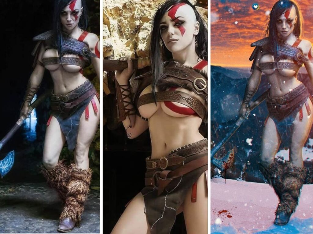 god of war girl