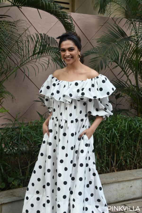 Deepika padukone polka dress