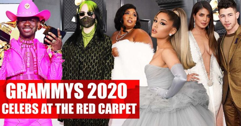 See Worthy Pictures Of Hollywood Celebs Spotted In GRAMMY Awards 2020