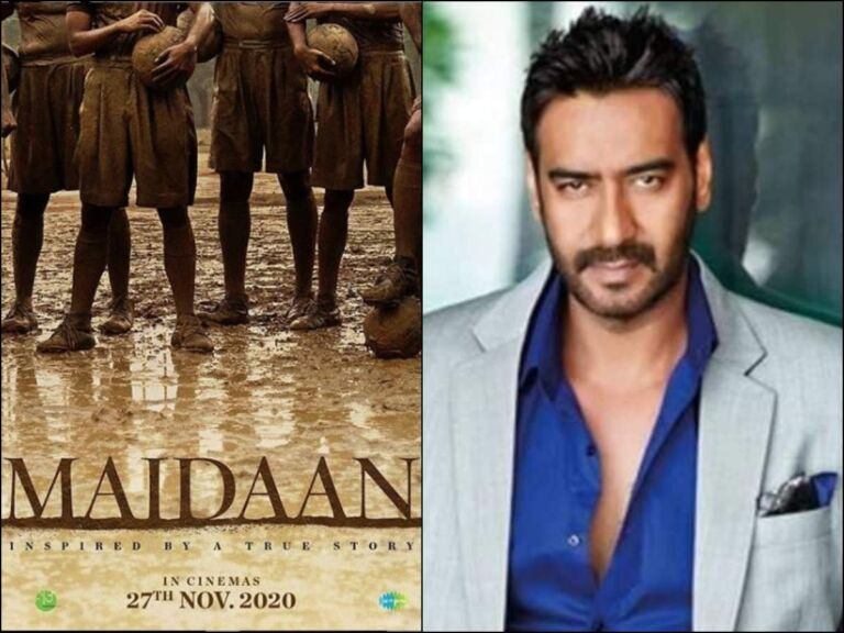 Maidaan Teaser Poster: New Poster Release Of Ajay Devgan's 'Maidaan'