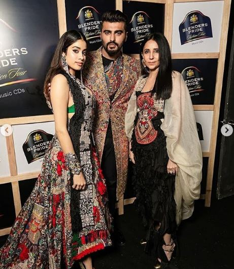 Janhvi Kapoor Ramps Up With Arjun Kapoor
