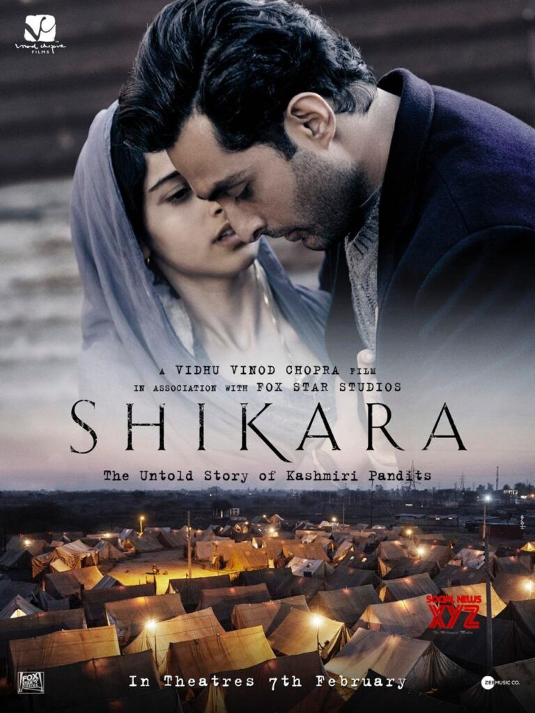 Shikara The Untold Story Of Kashmiri Pandits: The Makers Announces The Second Trailer Of The Film