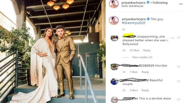 FANS ARE TROLLING PRIYANKA CHOPRA ON HER DRESS