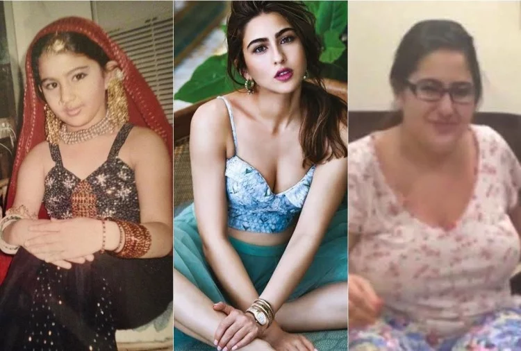 sara ali khan story and old pictures
