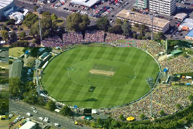 ind vs NZ Seddon Park ground