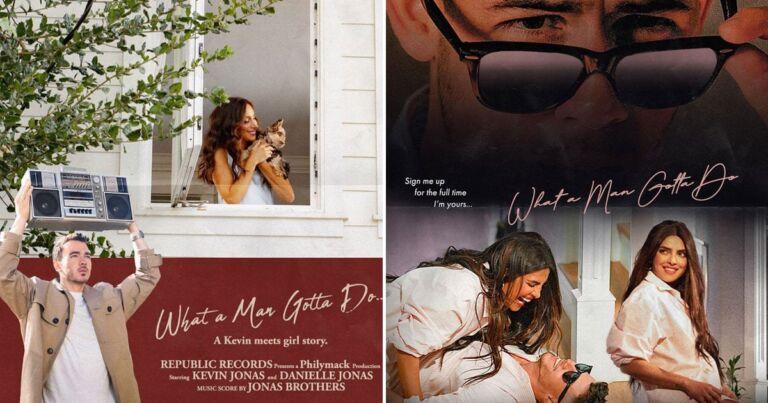 Priyanka Chopra-Nick Jonas Song's Out Now: What A Man Gotta Do