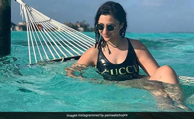 Parineeti Chopra Turns Water Baby On Her Maldives Vacation: See Pics