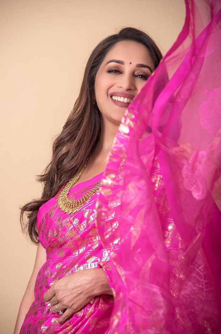 Madhuri Dixit's Saree Collection Will Make Us Go And Shop For Sarees Right Now!