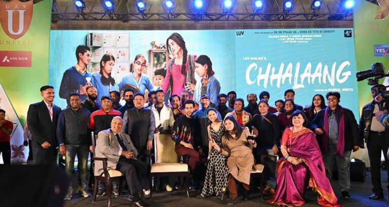 Rajkumar And Nusrat Reach DAV United Fest To High The Fever Of 'Chhalaang'
