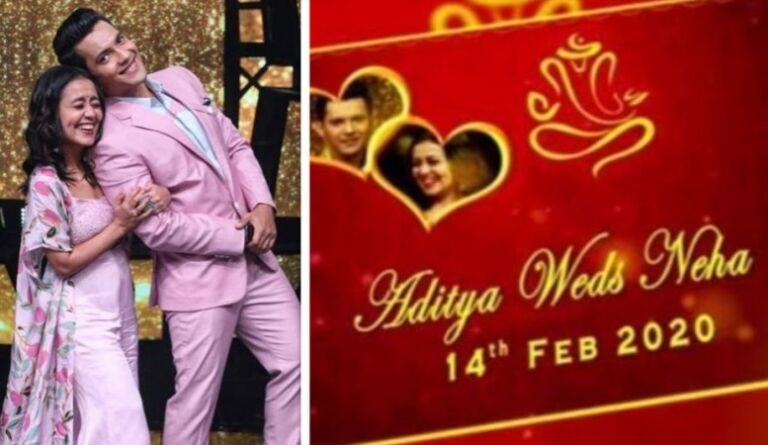 Cute Couple Aditya Narayan And Singer Neha Kakkar To Tie A Knot On 14th Feb