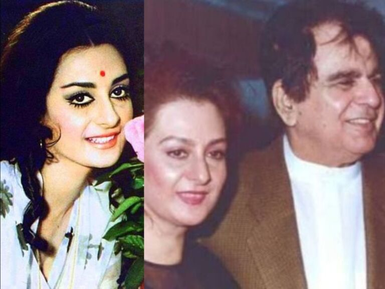 Old Special! Saira Banu's Love Story With Dilip Sahab, Dilip Used to Express His Love Only By Giving Red Roses To Me