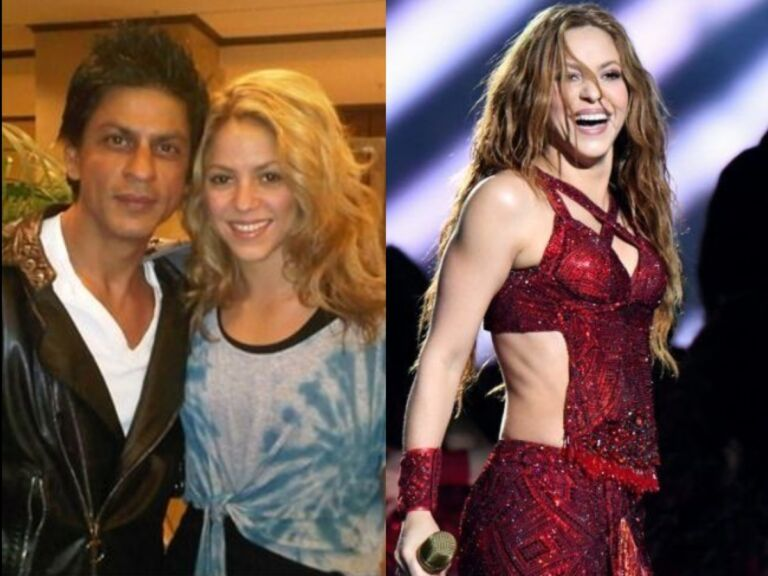 Shah Rukh Khan Reacts To His All-Time Favorite Shakira's dance, Said- Wonderful…