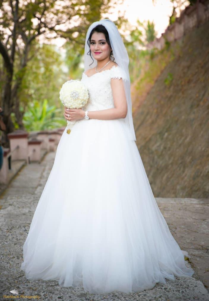 Christian Indian bride