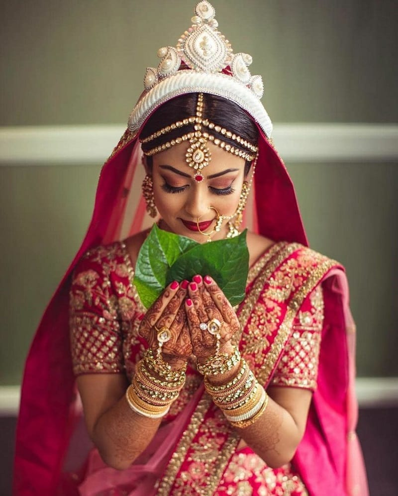 Bengali Indian bride