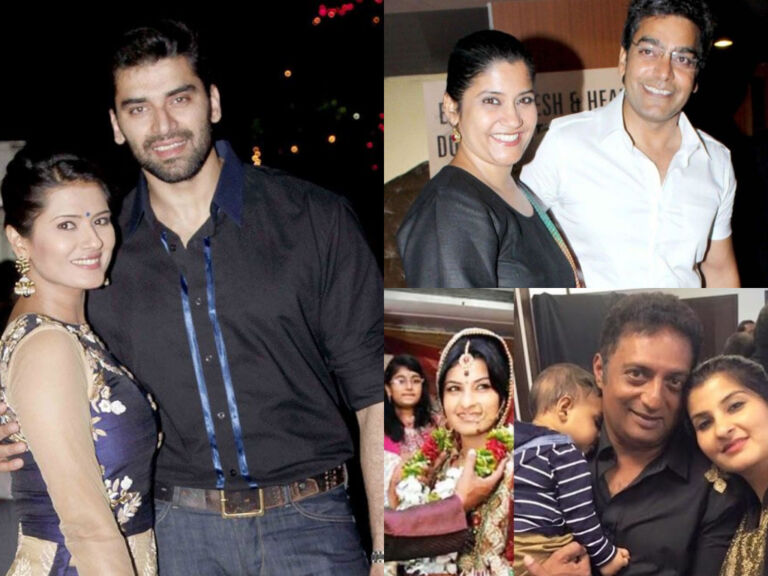 The Beautiful Wives Of Bollywood's Top Villains