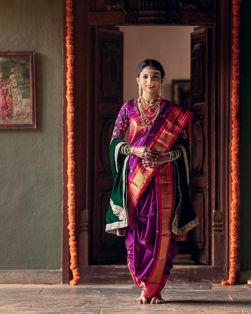 Maharashtrian Indian bride