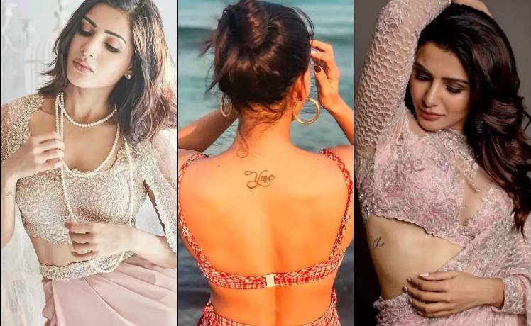 South Actress Samantha Akkineni's 3 Tattoos And Their Meaning