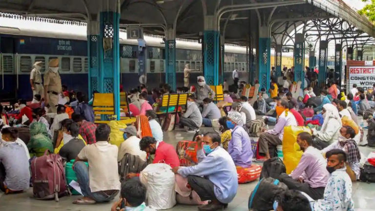 Migrants Forced To Drink Water From Toilet Taps In Shramik Trains