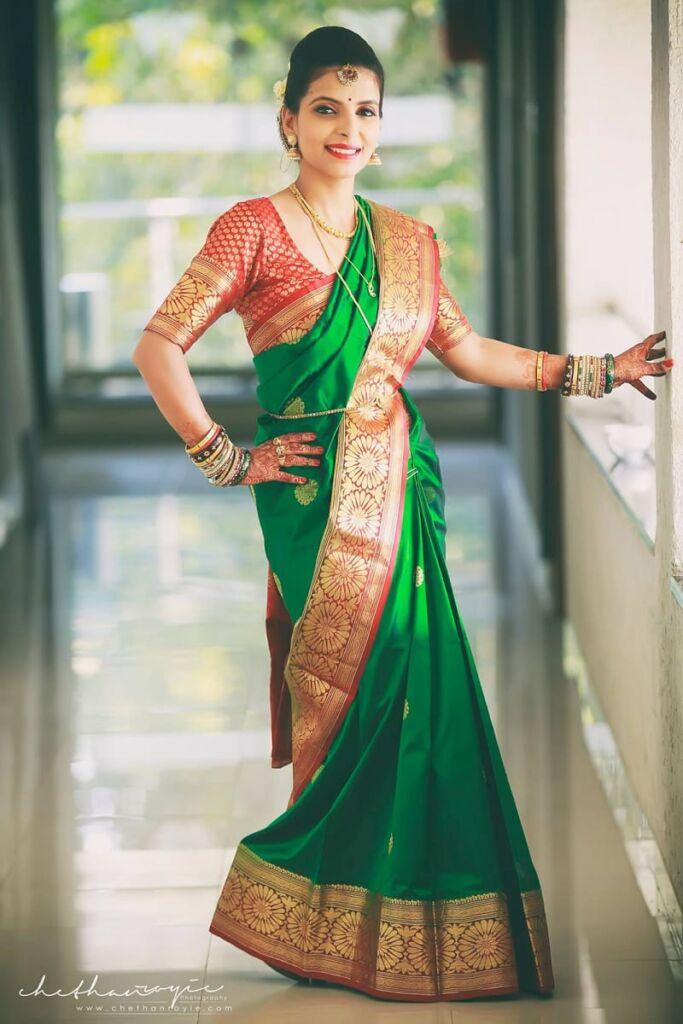 Tamilian Indian bride