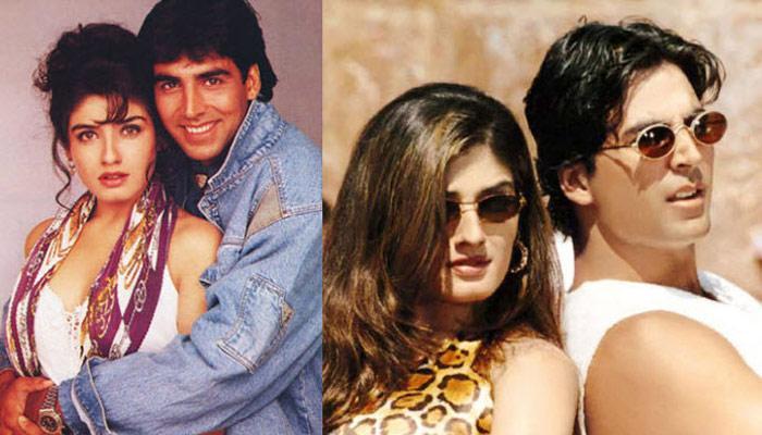 Akshay kumar raveena tondon Love story