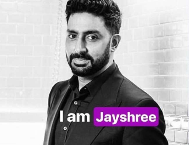 Abhishek Bachchan Participated In Campaign Against Domestic Violence In Lockdown