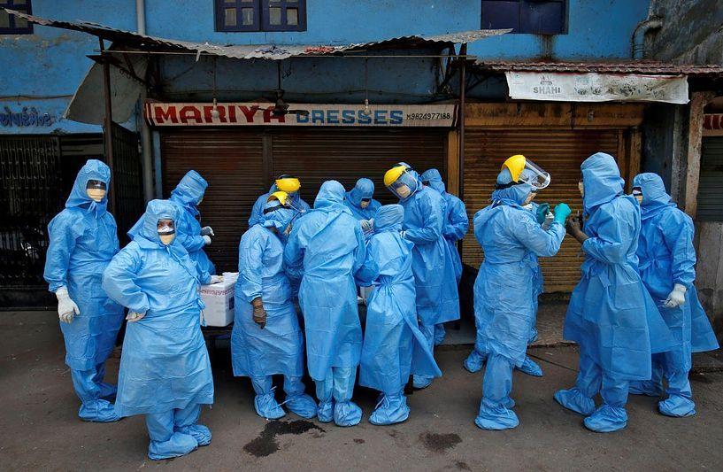 pune hospital protest against unpaid salary