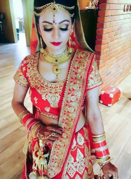 Himachali Indian bride