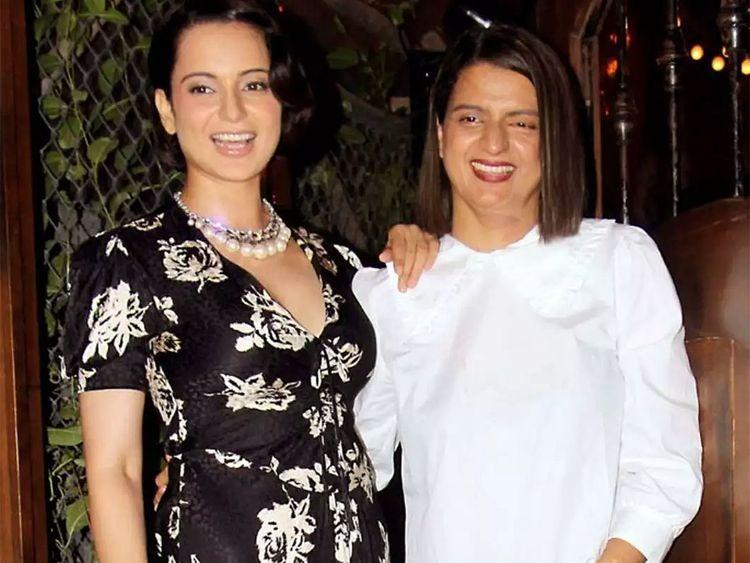 Kangana's Sister Rangoli Shared Inside Photo Of Her New Home