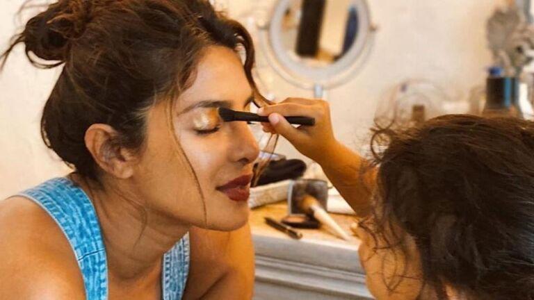 Cute Moments: Twinkle Khanna, Mira Rajut, And Priyanka Chopra Get a Palour Session From The Kids