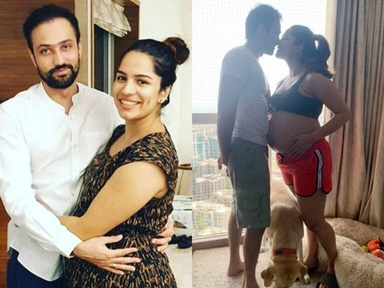 Actress Shikha Singh Pregnant: Shared Romantic Photos With Hubby Flaunting Baby Bumps