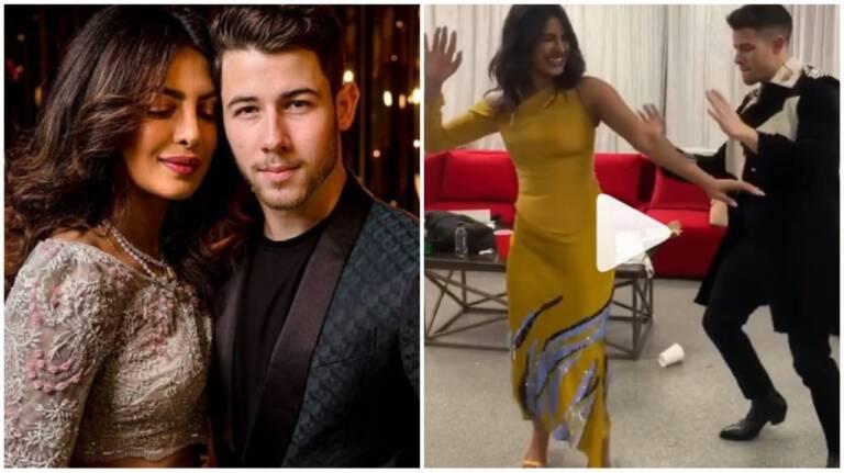 Priyanka Chopra's And Nick Jonas Dance Moves Going Viral