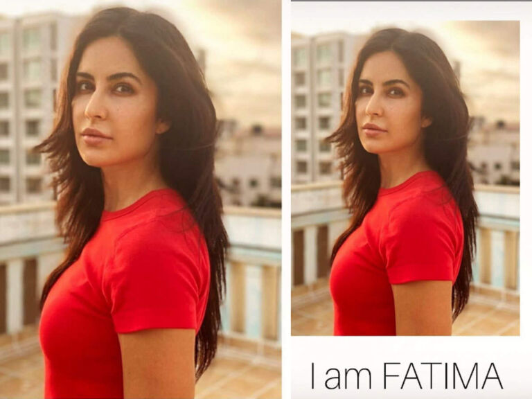 Katrina Kaif Says 'I Am Fatima', Join Hands With Sneha For A Good Cause