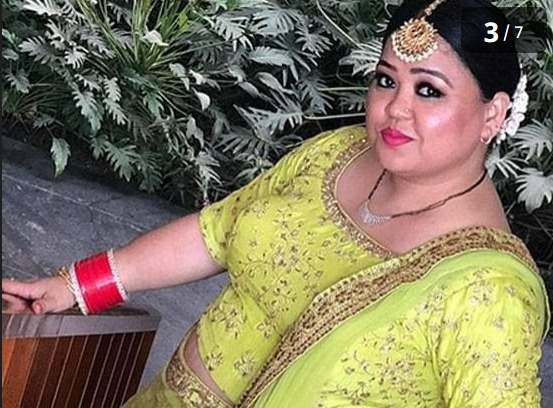 Comedian Bharti Singh Shared Throwback Photos In Traditional Look