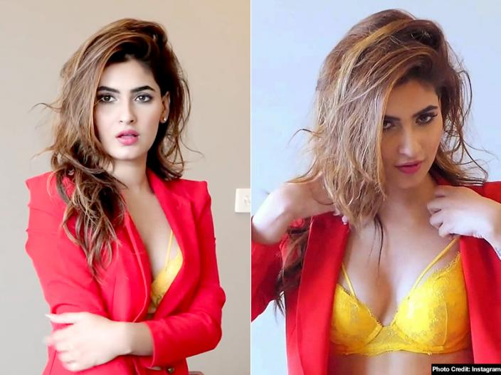 Hot Actress Karishma Sharma Trolled For Showing Her Armpit Hairs