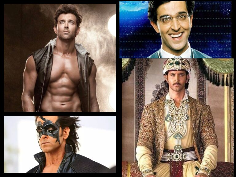 Hrithik Roshan Shared An Impressive Art Showing His Different Avatars Made By His Fan