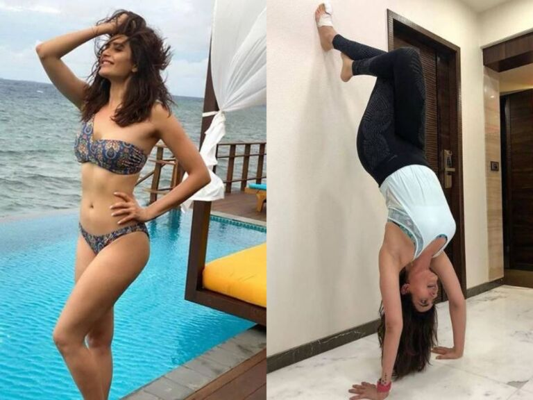 Karishma Tanna Workout Photos Are Enough To Motivate You During Lockdown