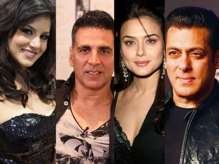 Real Names Of Bollywood's Famous Stars