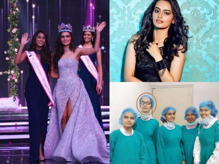 Manushi Chhillar's Birthday: Her Journey From A Medical Student To Glamorous Diva